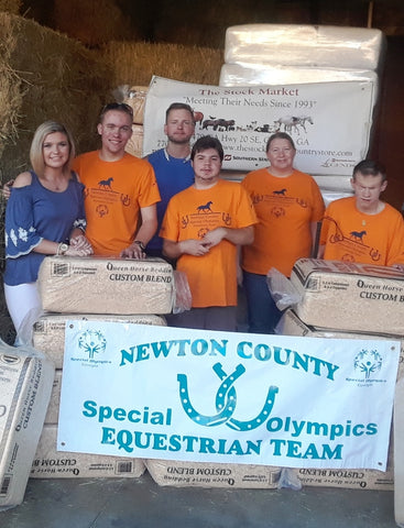 The Stock Market Sponsors Newton County Special Olympics Equestrian Team