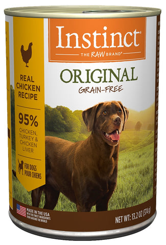 Nature's Variety Instinct Grain-Free Chicken Formula Canned Dog Food
