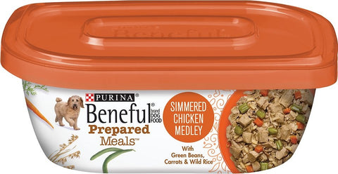 Beneful Prepared Meals Simmered Chicken Medley Wet Dog Food