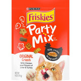 Friskies Party Mix Original Crunch Cat Treats