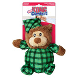 KONG Comfort Snuggles Plush Bear Dog Toy