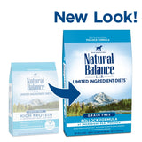 Natural Balance L.I.D. Limited Ingredient Diets Grain Free Pollock Recipe Dry Dog Food