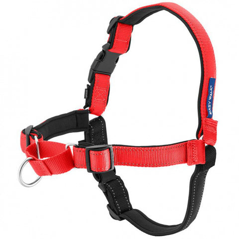 PetSafe Deluxe Easy Walk Rose Red & Black Dog Harness