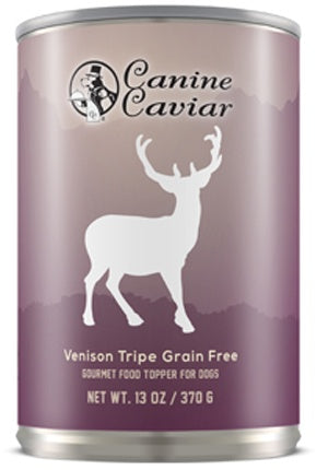 Canine Caviar Grain Free Venison Tripe Recipe Supplemental Canned Dog Food