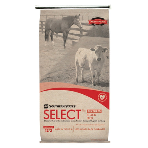 Select Stock Textured Horse Feed