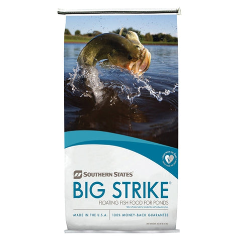Southern States Big Strike Floating Fish Food for Ponds