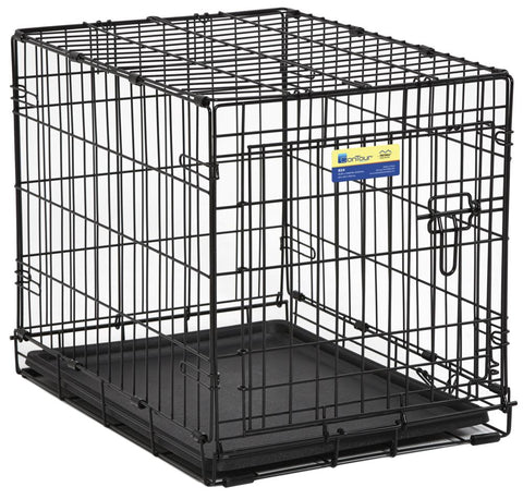 Contour™ Single-Door Folding Dog Crate