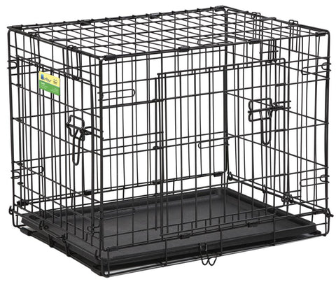 Contour™ Double-Door Folding Dog Crates