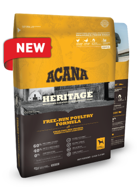 Acana Heritage Free Run Poultry Formula For Dogs