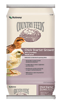 Country Feeds Chick Starter Grower Feed Medicated