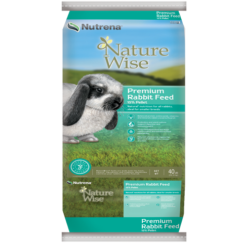 NatureWise 15% Premium Rabbit Feed
