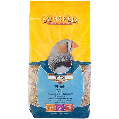 Sunseed Vita Sunscription Finch Diet
