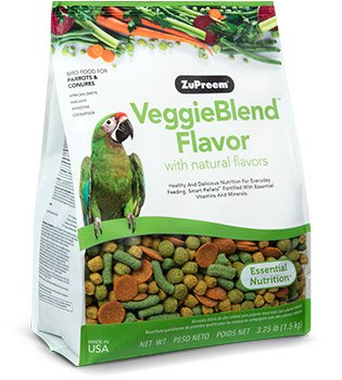 VeggieBlend™ Flavor with Natural Flavors For PARROTS & CONURES