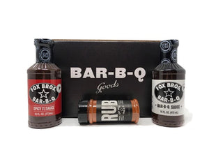 Fox Bros Sauce and Rub Gift Pack
