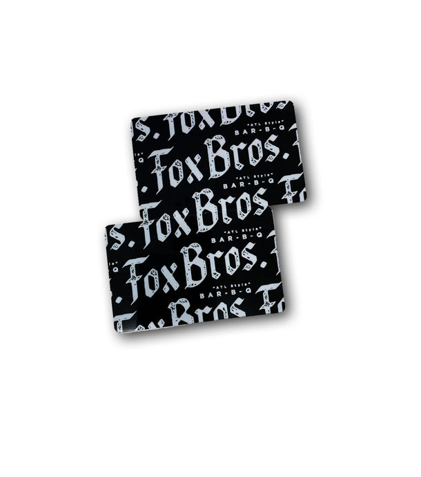Fox Bros Bar-B-Q Gift Card