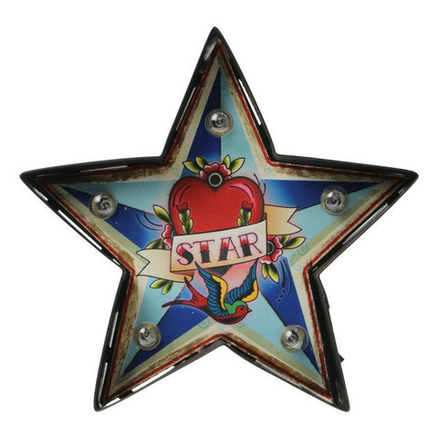 Led-skylt Karneval STAR, Temerity Jones - Inspiri