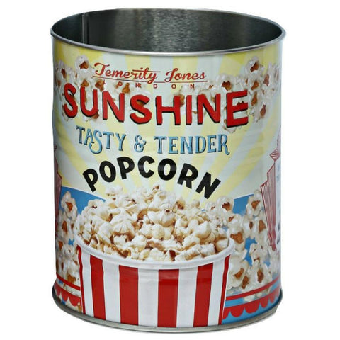 Plåtburk Retro Sunshine Popcorn, Temerity Jones - Inspiri