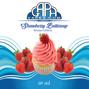Gapa Vapes E liquid - Strawberry Buttercup E juice - Free Shipping - Label