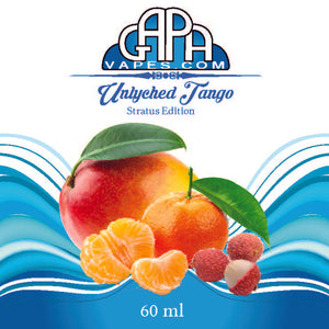 Gapa Vapes E liquid - Unlyched Tango E juice - Free Shipping Wholesale  - Label