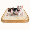 Toast Bread Shape Pet Mat