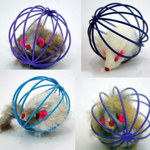 Mice Ball Cage Toy