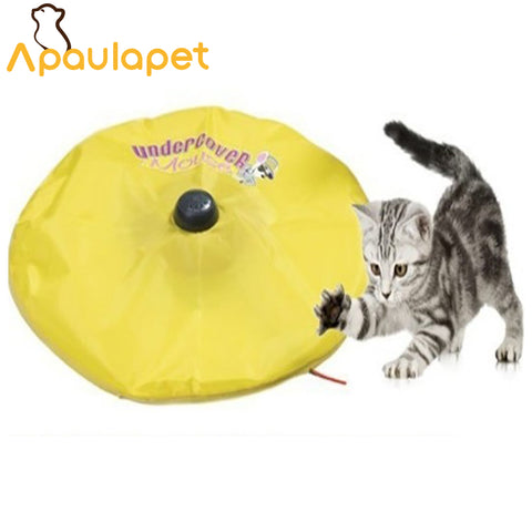 Undercover Motorized Moving Mouse Cat Toy