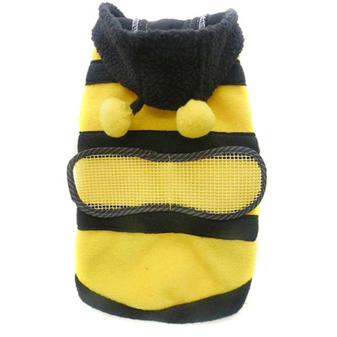 Bumble Bee Wings Fleece Hoodie