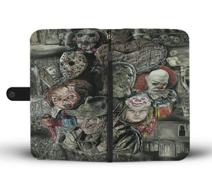 Master's Of Horror - Wallet Phone Case