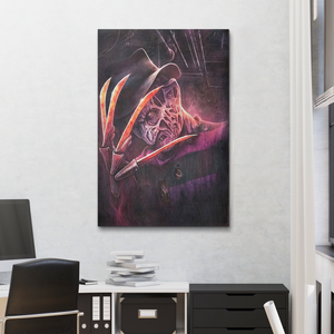 Dream Of Freddy - Canvas Art