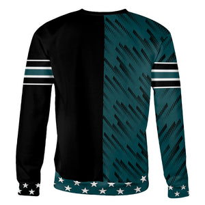 Stars and Stripes PHD Football Sweatshirt