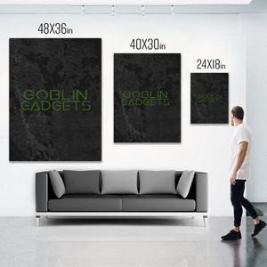 I Said GodD@mn - Canvas Art