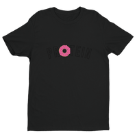 Donuts + Protein - Fitted Short Sleeve T-shirt