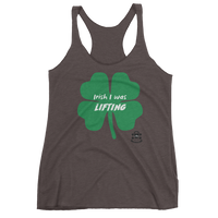 Irish I Was Lifting - Women's Racerback Tank