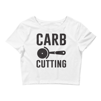 Carb Cutting - Women's Crop Tee
