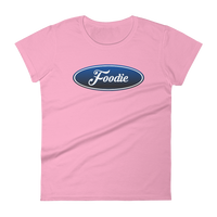 Foodie Logo - Women's short sleeve t-shirt