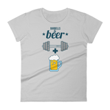 Barbells + Beer - Women's short sleeve t-shirt