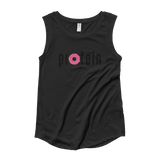 Donuts + Protein - Ladies' Cap Sleeve T-Shirt