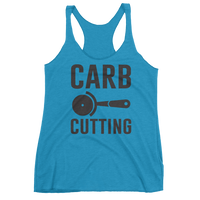 Carb Cutting - Women's Racerback Tank