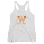 What A Workout - Women's Racerback Tank