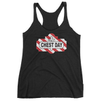TGI Chest Day - Women's Racerback Tank