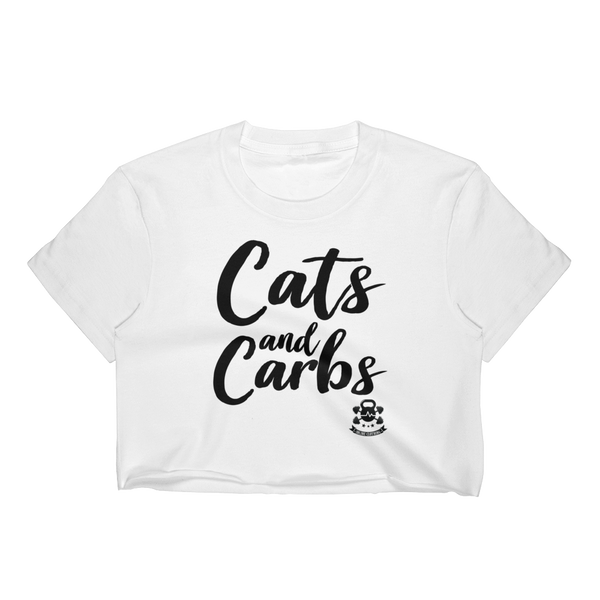 Cats and Carbs - Women's Crop Top