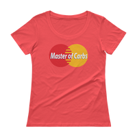 Master of Carbs - Ladies' Scoopneck T-Shirt