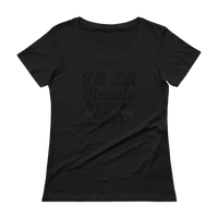 Lift Heavily Ever After - Ladies' Scoopneck T-Shirt