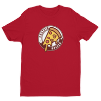 Pizza + Protein - Short Sleeve Fitted T-shirt
