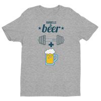 Barbells + Beer - Short Sleeve T-shirt Mens