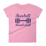 Barbell Bombshell - Women's short sleeve T-Shirt (Fashion Fit)