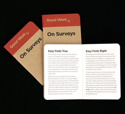On Surveys (3-pack)