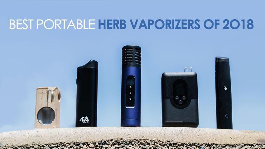 12 Best Portable Dry Herb Vaporizers of 2018