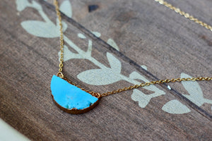 ce3a53c5f3b Half-moon Turquoise Necklace – Shop Rory and Me