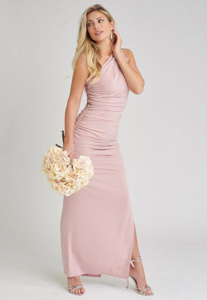 Angelina Maxi Dress in Blush